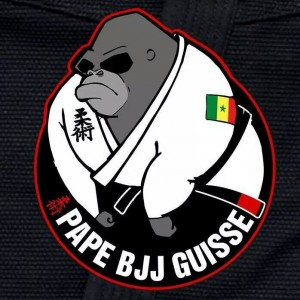 Patch Pape BJJ petit